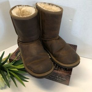 Ugg Oiled Leather Boots